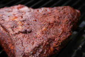 Delicious and tender smoked meat