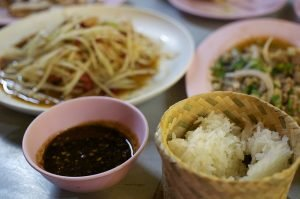 Sticky rice - a classic dish from South East Asia
